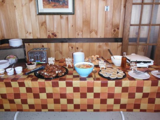 Exemple de table d'érablière